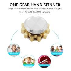 BAIK Mini Hand Spinner High Speed Cute Satu Gigi Jari Spinner Mainan Anti- stres-