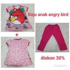 Baju Anak Angry Bird Size14 Diskon 30%