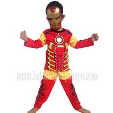 Baju Anak Kostum Topeng Superhero Iron Man Terlaris