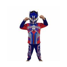 Baju Anak Kostum Topeng Superhero Transformers Optimus Prime