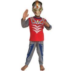 Baju Anak Kostum Topeng Superhero Ultraman Terlaris