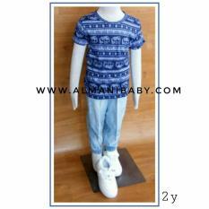 Baju Anak Murah / Baju Anak Impor / Kaos Anak / Jogger Jeans / Kaos Oks 7004 N Joger Jeans 9003