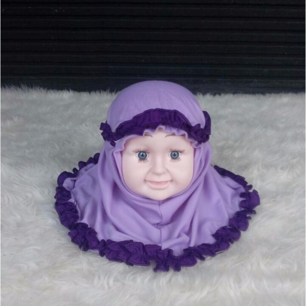 Beli sekarang Baju Anakumi Kerudung Bayi Ungu Muda terbaik murah - Hanya Rp28.150