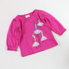 Baju Atasan anak/Baju Anak/Kaos Anak - Pink Balet