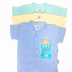 Review Terbaik Baju Bayi Libby 3 Pcs Lengan Pendek Polos S M L