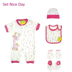 Baju Bayi - Romper Bayi Cewe Amaris / Have Nice Day