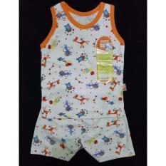Baju Bayi Setelan Kutung Velvet M 6-9 bulan