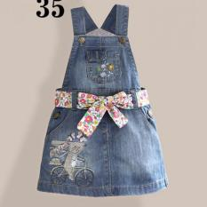 Baju Jumper Denim Anak Perempuan ZL55-35