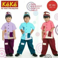 Baju Keke KK 312 Koko Anak Katun KP 384 Lucu Branded Terjangkau