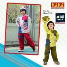 Baju Keke KK 353 Koko Anak Katun Lucu Branded Terjangkau
