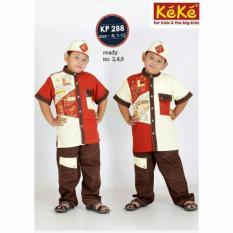 Baju Keke KP 288 Koko Anak Katun Lucu Branded Terjangkau