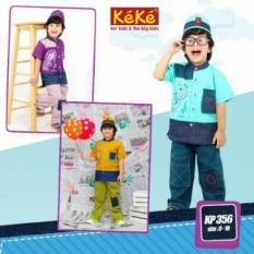 Baju Keke KP 356 Koko Anak Katun Lucu Branded Terjangkauu