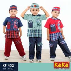Baju Keke KP 432 Koko Anak Katun Lucu Branded Terjangkau