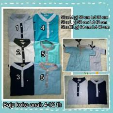 Baju Koko Anak 4-12 Th