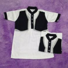 Baju Koko Gamis /Jubah Bayi dan Anak Laki Model Rompi