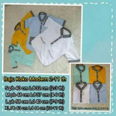Baju Koko Modern Anak 2-11 Th