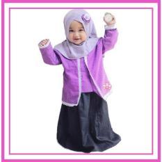 Spesifikasi Baju Muslim Anak Balita Calista Set 1 2Thn Paling Bagus