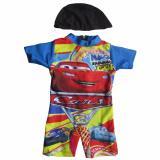 Obral Baju Renang Bayi Karakter Dengan Topi Murah
