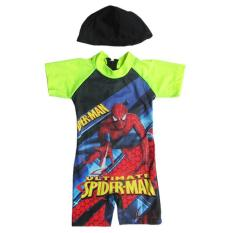 Baju Renang Bayi Karakter Dengan Topi