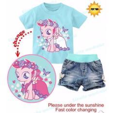 Cuci Gudang Baju Setelan Anak Perempuan Gw244J