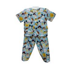 Baju Tidur Bayi Laki laki Hoshi Motif H014 Usia 12-18 Bulan (Size L)