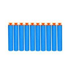 BAJUUNIQKU 10 Pcs Nerf Gun Peluru Refill Ammo Bullets - Blue