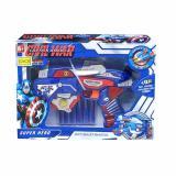 Harga Bajuuniqku Mainan Anak Soft Bullet Hero Blaster Senapan Pistol Eva Nerf Gun Captain America 2 Bajuuniqku Indonesia