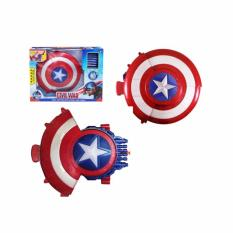 Review Bajuuniqku Mainan Soft Bullet Hero Blaster Nerf Tameng Captain America Shield