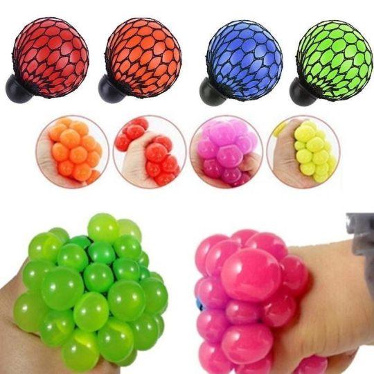 Squishy Quiz : Jual Ball Squishy Squeeze Anti Stress Ninja Splat Toy Yoyo Anggur Hand Mainan Remas Anti Stress ...