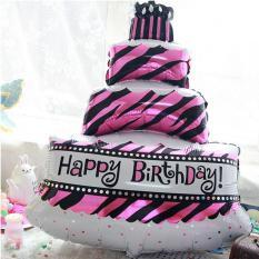 Balon kue ulang tahun/balon cake jumbo