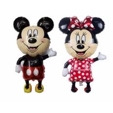balon mickey minnie tinggi - balon minnie mouse - balon mickey mouse - balon karakter disney