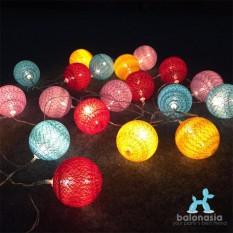 Balonasia Ball Light LED / Lampu LED Tumblr Benang Lampion Gantung Hias