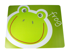 Bamboo Studio Silicone Rubber Baby 4 Kids Placemats Frog - Hijau