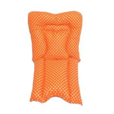 Beli Bantal Alas Stroller Pad Dotty Orange Terbaru