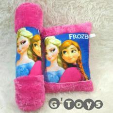 Bantal Guling Printing Bayi Balita Frozen Pink By Gladiool Toysmart.