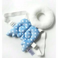 Spek Bantal Pelindung Kepala Bayi Motif Malaikat Warna Biru Baby Head Protector Character Jawa Timur