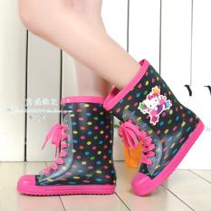 Jual Cepat Sepatu Boot Hujan Anak Anti Slip
