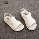 Review Sayang Korea Fashion Style Baru Musim Panas Kulit Sepatu Anak Anak Anak Sandal Summer