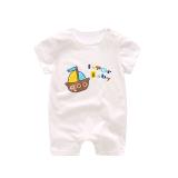 Bayi Yang Baru Lahir Siam Musim Panas Lengan Pendek Romper Original