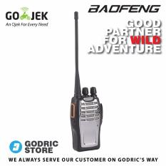 Baofeng BF-A5 5W 16CH Walkie Talkie HT UHF 400-470MHz FM POFUNG (BF-888s Upgrade) - Hitam