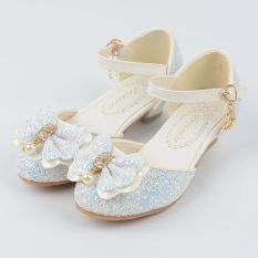 Toko Besar Baru Bertumit Tinggi Anak Anak Gadis Putri Sepatu Baotou Sepatu Online Di Tiongkok