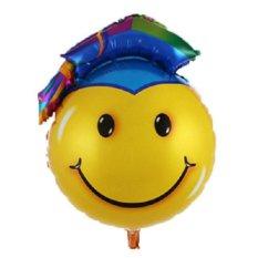 BatoBato Balon Foil Wisuda - Smile Jumbo