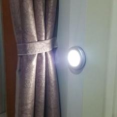 Baterai Dioperasikan IR MOTION SENSOR 6 * LED Night Light Wireless Lampu Induksi Inframerah Lighting Cabinet Samping Tempat Tidur Lorong-Intl