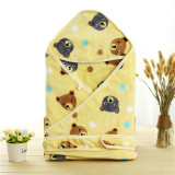 Ongkos Kirim Infant Newborn Soft Swaddling Blanket Stroller Wrap Baby Cartoon Bear Blankets Intl Di Tiongkok