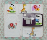 Jual Bayi Online Shop Singlet Kazel Animal Edition Satu Set