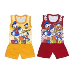Bayie - 2 SET Setelan Kaos Oblong Bayi Kutung PROTO umur 4 - 18 bulan / Kaos Singlet  Anak Laki-Laki/ Baju Oblong Anak Perempuan