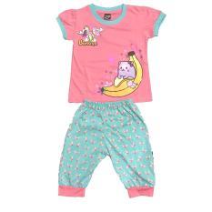 BAYIe – Baju Bayi Anak Perempuan motif BANANA V3 usia 1 – 3 tahun / Pakaian anak Cewek