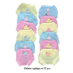 Bayie - Celana Segitiga Bayi MELODY isi 12 pcs umur 0-6 bulan