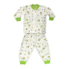 BAYIE - Setelan Baju Bayi Lengan Panjang + Celana Panjang COFUCU 100% katun Motif lucu umur 3-12 bulan / baju anak laki-laki/anak perempuan