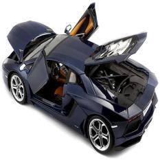 Bburago 1:18 - Lamborghini Aventador LP 700-4 Biru
